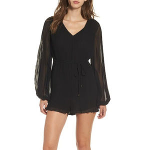 ASTR the Label Roseanne Pleated Romper